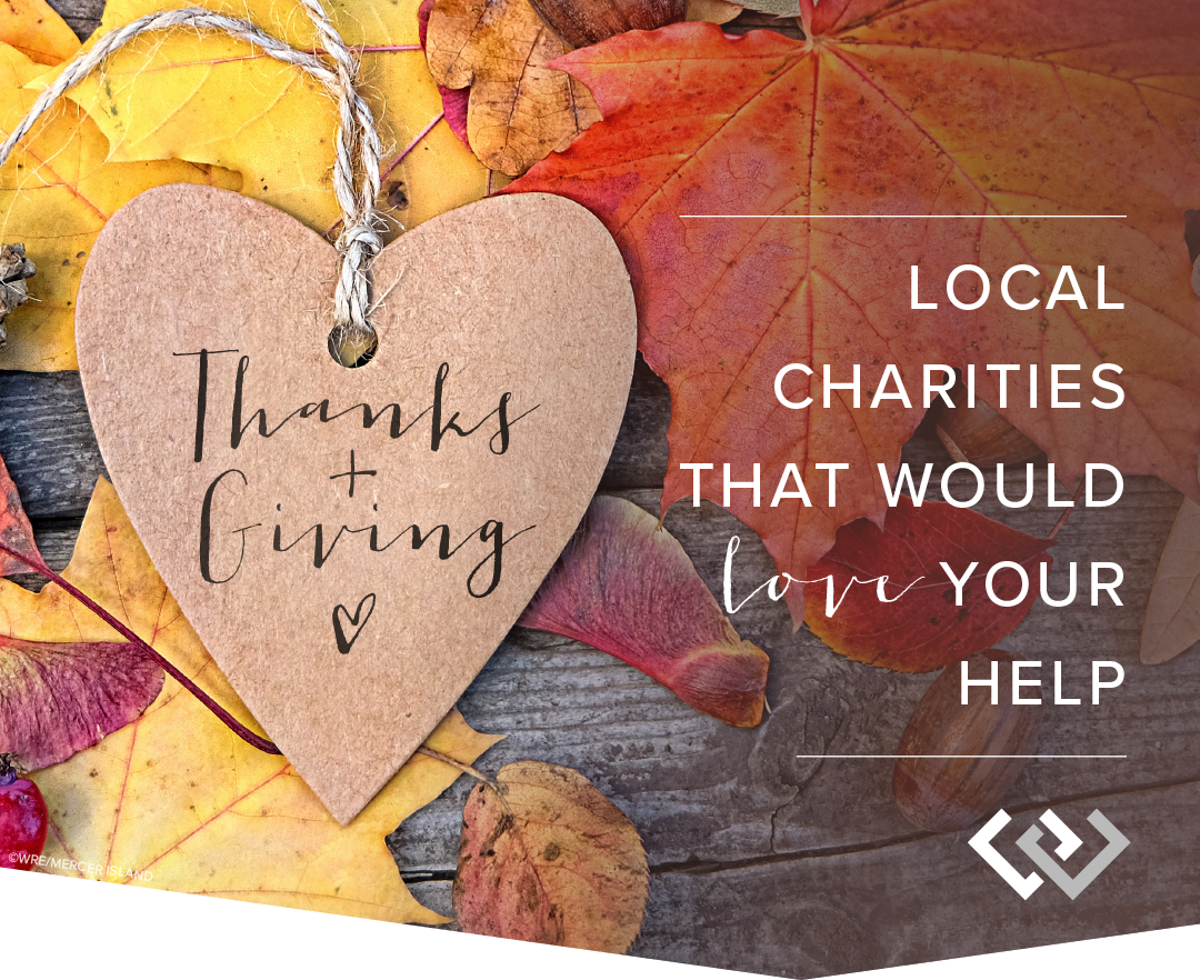 Local Charities That Would LOVE Your Help
